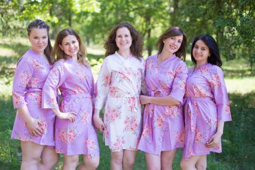 lilac bridesmaid robes - 1000×667