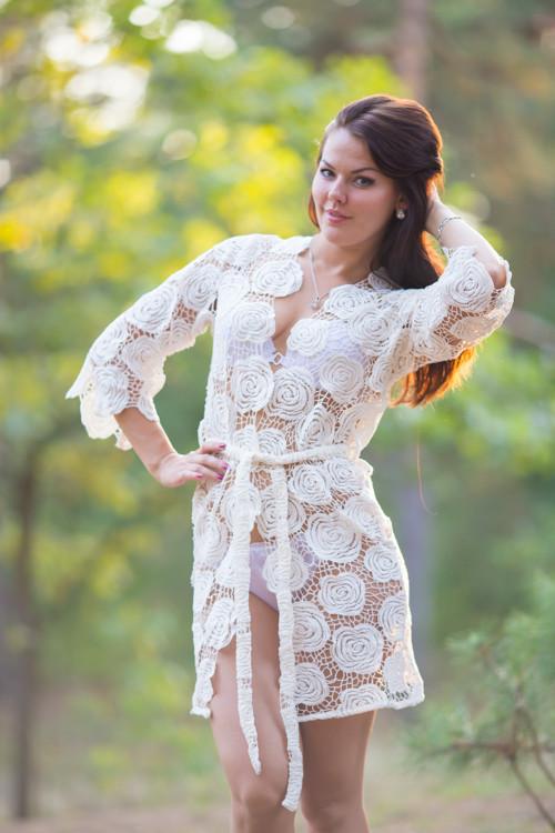 Oh Serena Floral Bridal Boudoir Boudoir Robe