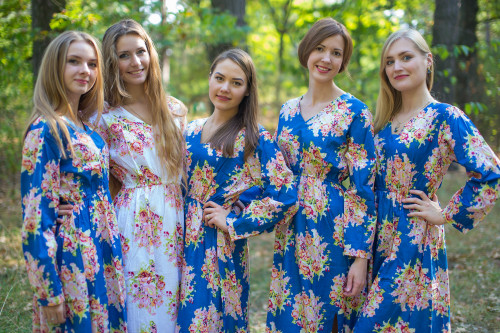 Shape Me Pretty 2 Style Kaftans for bridesmaids to get ready in
