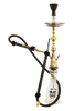 Khalil Mamoon Hookah - Gold Indian Jewel