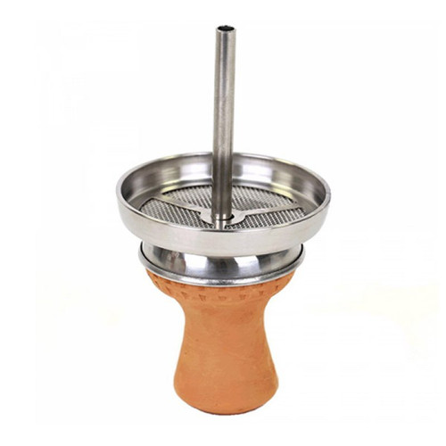 Stainless Steel Hookah Bowl Screen Heat Management System