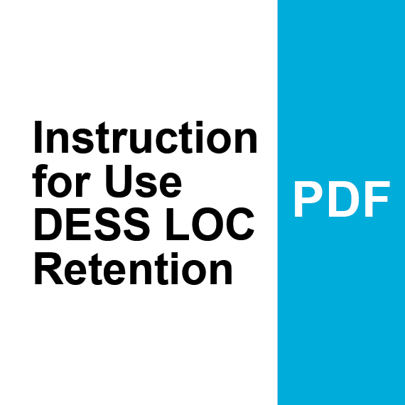 Instructions for Use DESS LOC Retention PDF