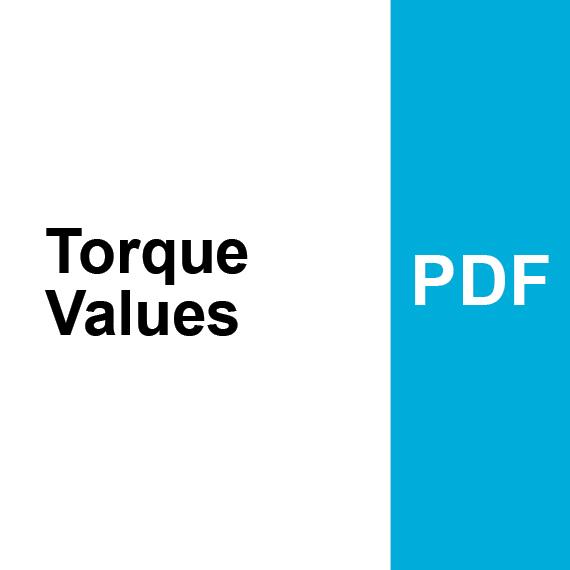 Torque Values PDF