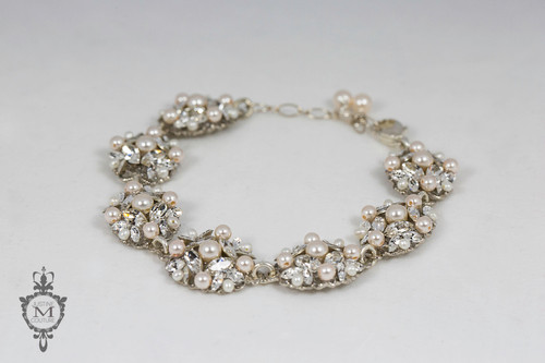 Justine M. Couture Silver Birch Bracelet