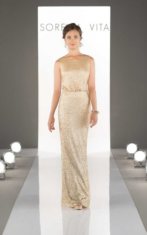 Sorella Vita Sequin Bridesmaid Dress 8824