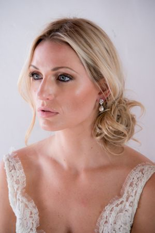 Justine M. Couture Victoria Earrings