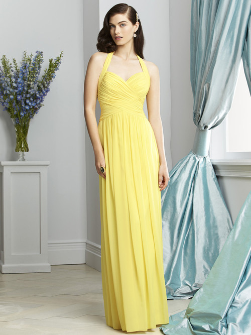 Dessy Bridesmaid Dress 2932