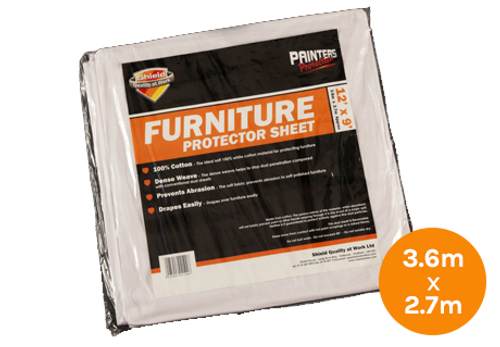 Shield Furniture Protector Sheet - 3.6m x 2.7m