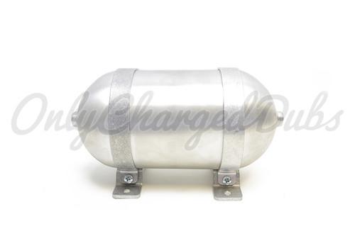 """Seamless Aluminium Air Tank - 12"""" x 5""""D"""