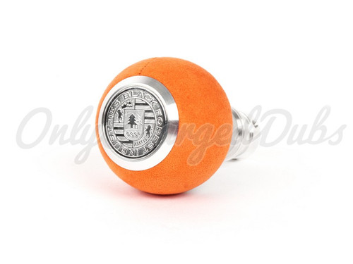 VW/Audi BFI Heavy Weight Shift Knob - Orange Alcantara