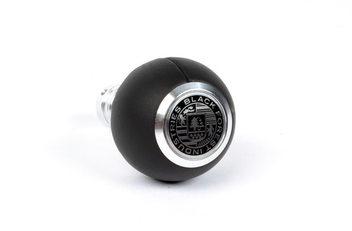 BMW BFI Heavy Weight Shift Knob - Black Nappa Leather