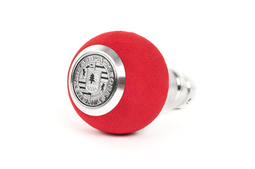 BMW BFI Heavy Weight Shift Knob - Red Alcantara