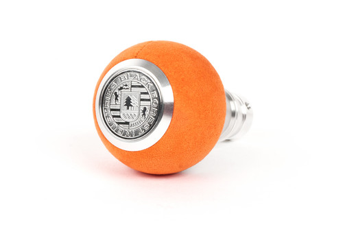 BMW BFI Heavy Weight Shift Knob - Orange Alcantara