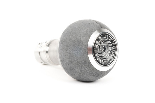 BMW BFI Heavy Weight Shift Knob - Grey Alcantara