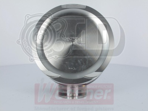 1.8 20v Turbo Wossner Forged Pistons - 8.5:1 Comp Ratio