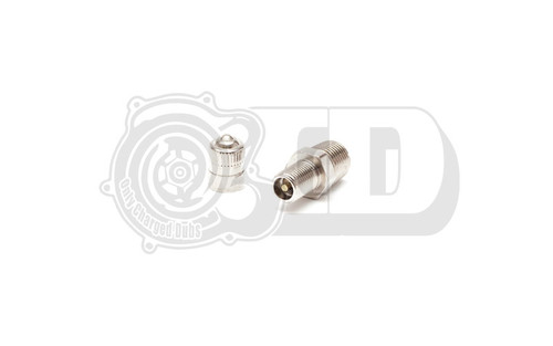 "Threaded Fitting - 1/8"" NPT Air Tank Drain & Inflation Valve"