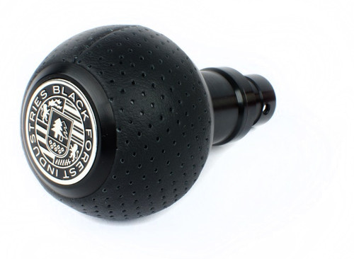 BMW BFI Heavy Weight Shift Knob - Full Billet Schwarz/Air Leather