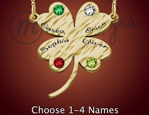 Gold Lucky Name Jewelry