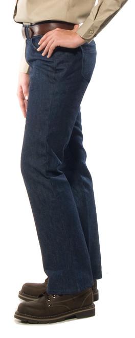Women's Heavy Duty Blue Denim Jeans
