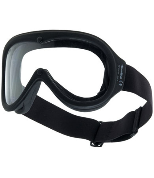 Safety Chronosoft Goggles, Clear Double Polycarbonate Lens,