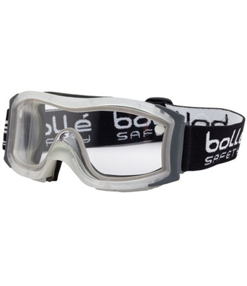 Safety Duo Goggles, Clear Double Polycarbonate Lens, Frosted