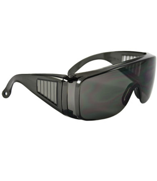 XtraTuff, Gray Hard Coat Lens and Frame, Vented Temple