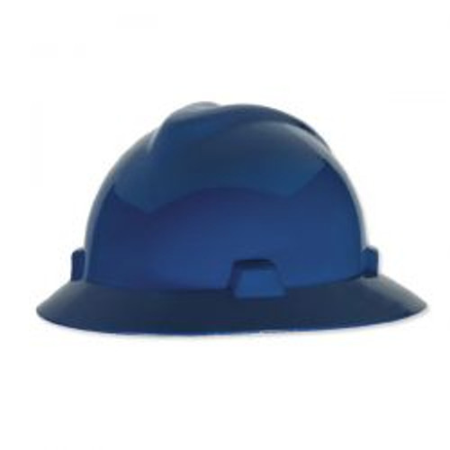Blue MSA Hat Head Protective Hat