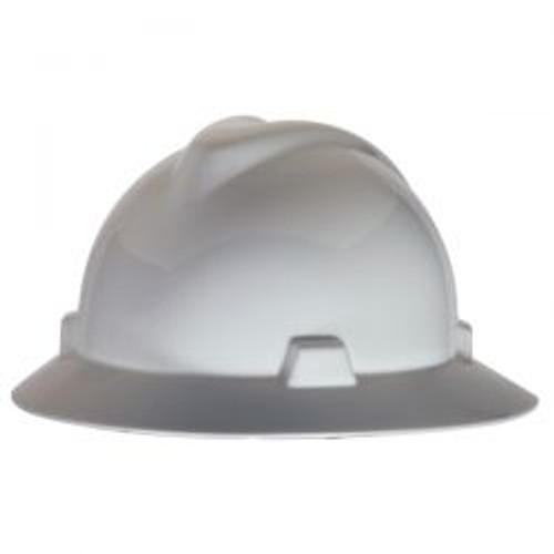 White MSA LST Protective Hat