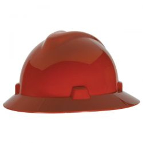 Red MSA Protective Hat