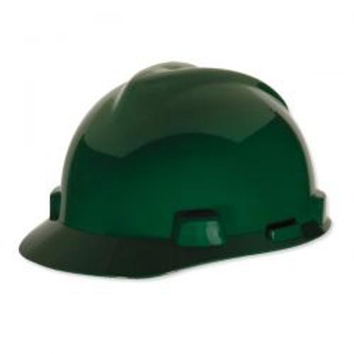 Green Half Brim Protective Hard Hat