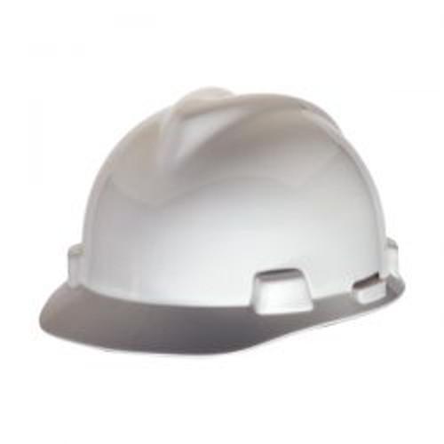 White Half Brim LST Protective Cap