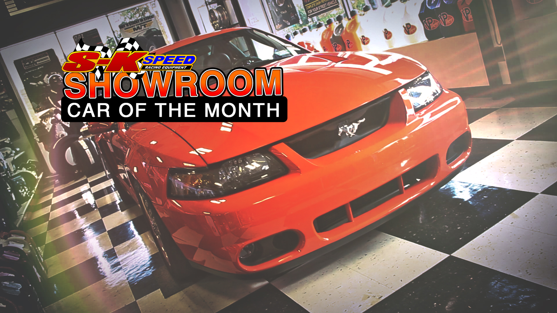 2004 Mustang SVT Cobra 1 of 281 in Competition Orange