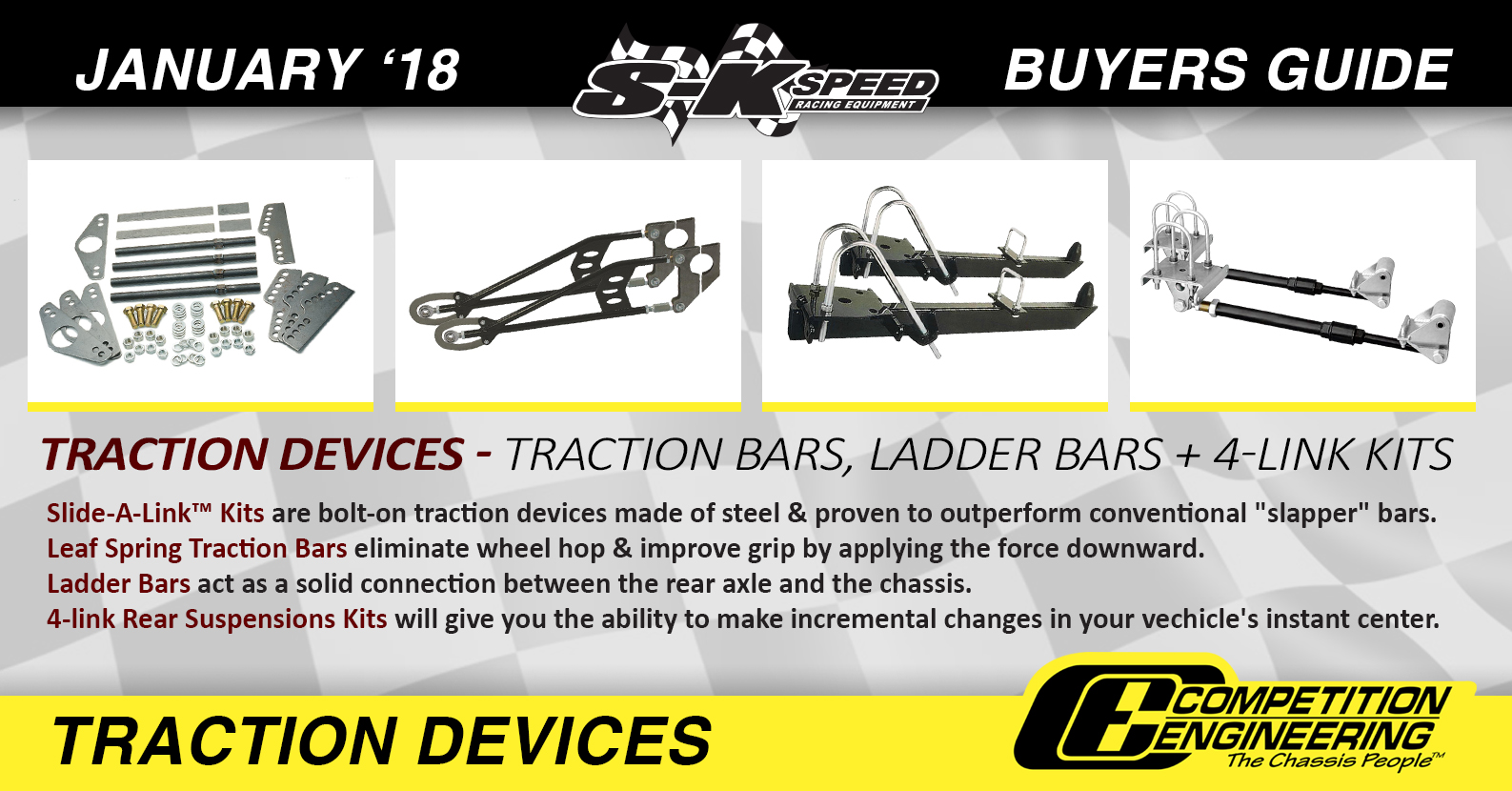 Competition Engineering Traction Devices - January 17 Buyers Guide