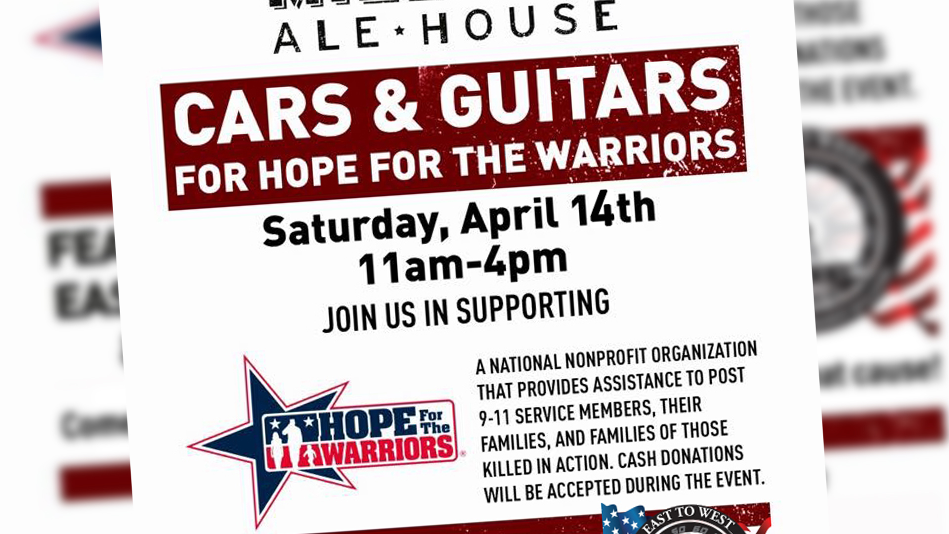 Hope for the Warriors 4/14