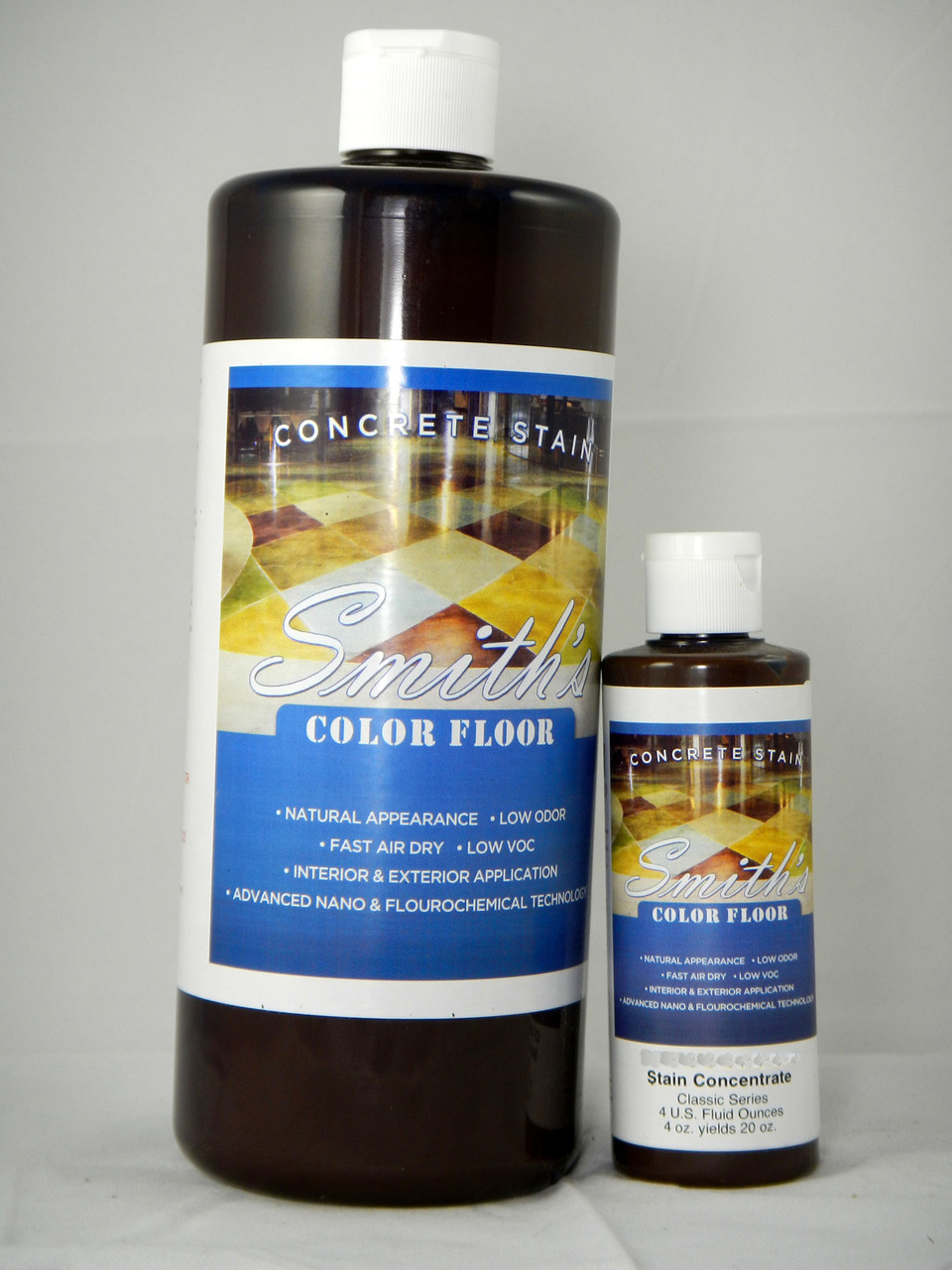 Classic Colors Available in 4oz and Quart Bottles in Concentrate form