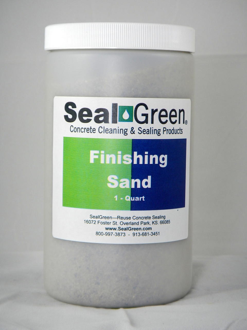 Finishing Sand design to protect fresh and cure caulk repairs.