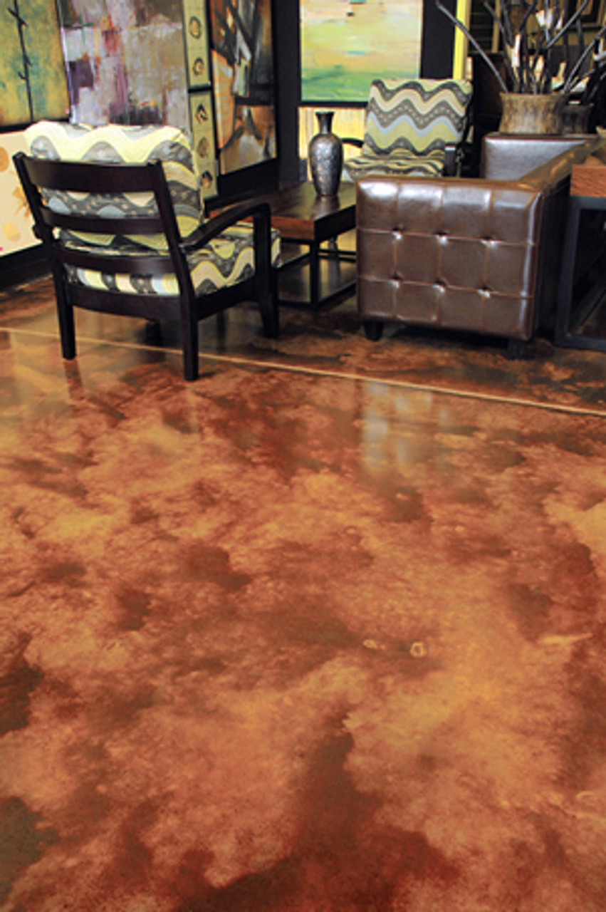 Bark Brown Color Floor COMPLETED WITH COLOR BUNDLE