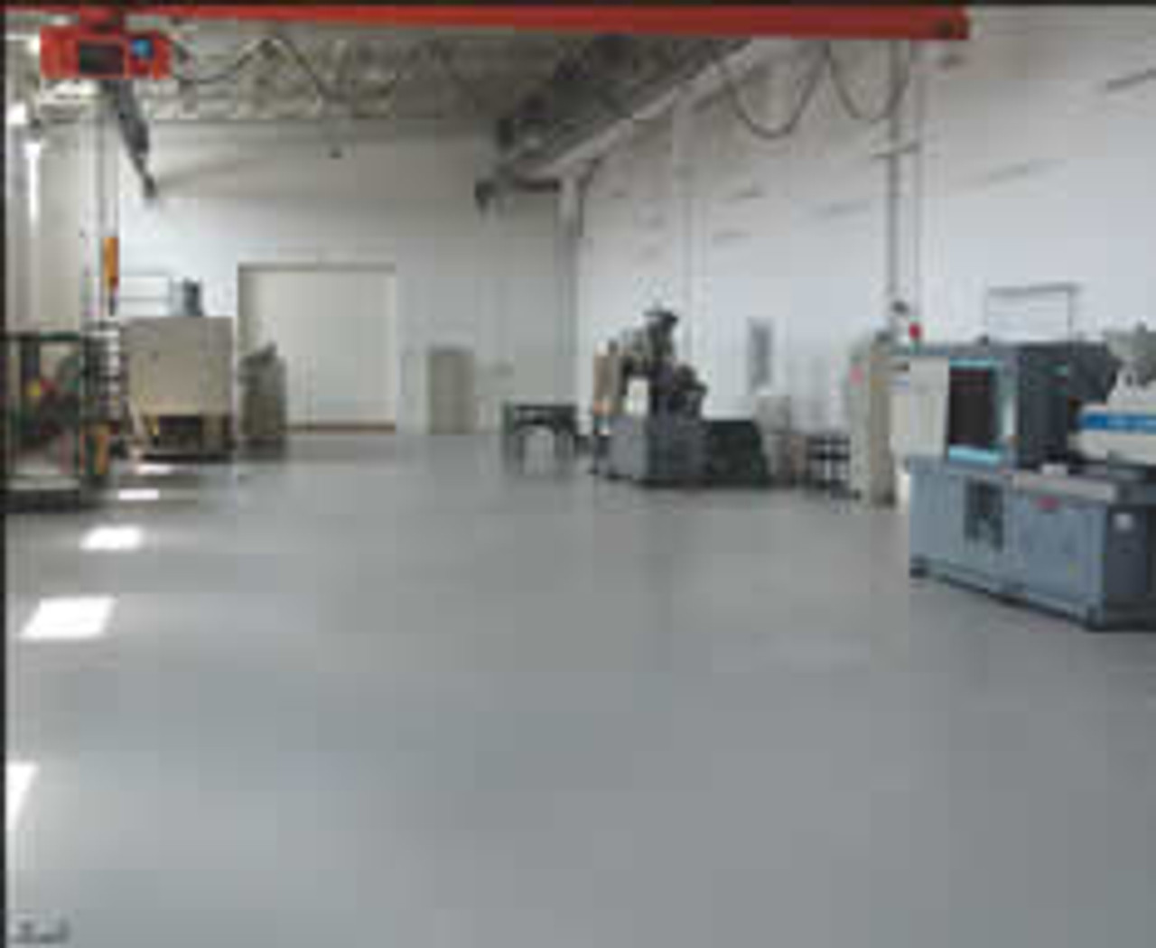 SealGreen Garage Floor Sealer is a perfect application for warehouse and shop floors where forklift traffic is present