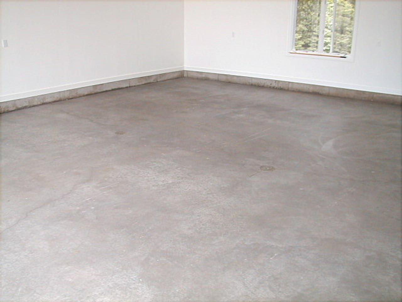 SealGreen Garage Floor Sealer does not change the original look of the concrete