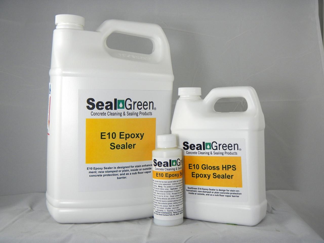 SealGreen E10 Epoxy Sealer and Vapor Barrier