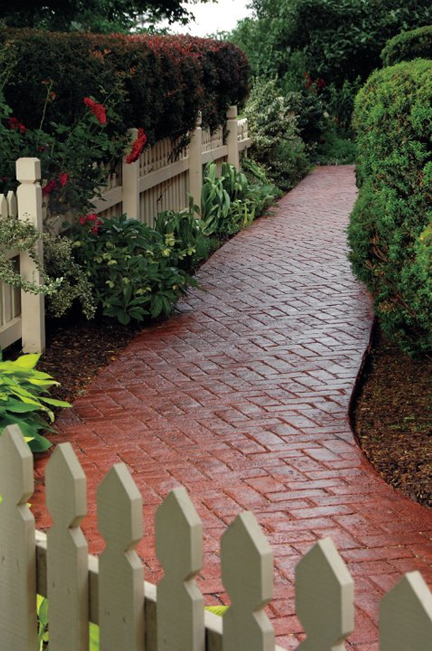 E15 Stamped Concrete Sealer can be applied on walkways