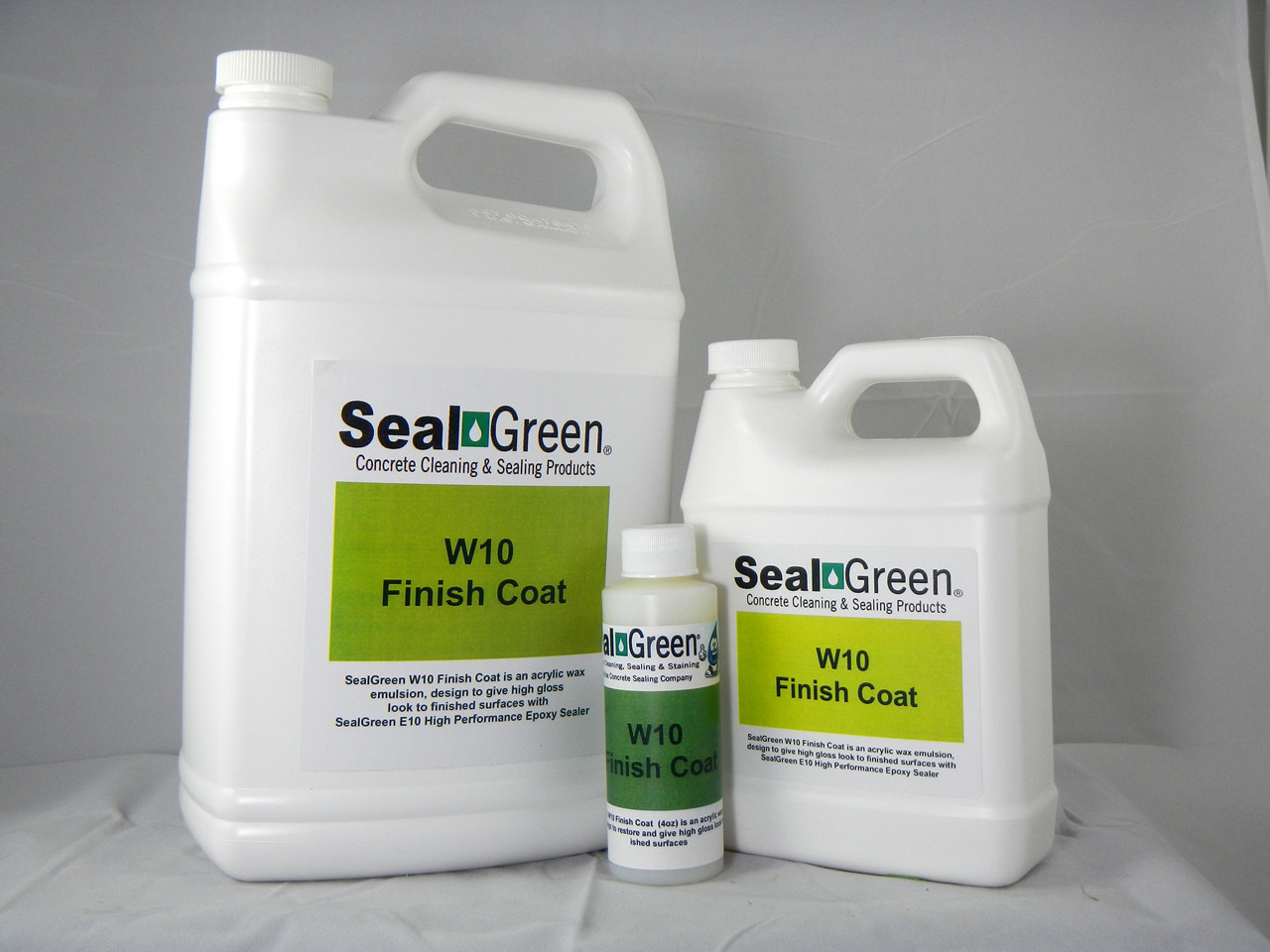 SealGreen W10 High Gloss Finish Coat
