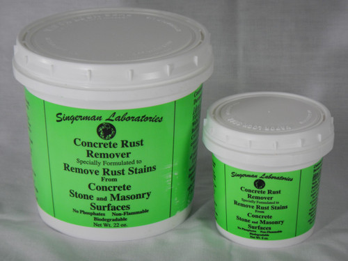 Rust Remover For Concrete Stone And Masonry Surfaces