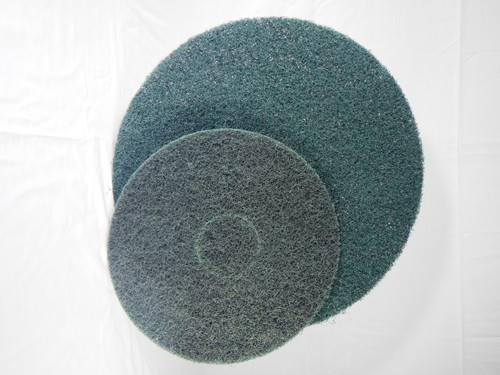 SealGreen Extra Heavy Duty Scrubbing Pad for preparing floors for color stain or sealer applications.
