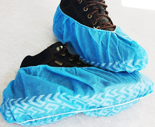Shoe Guards with Anti-Slip Pattern fit most shoes