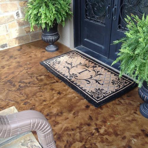 E15 Epoxy Stamped Concrete Sealer restores the wet look