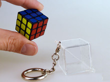Worlds Smallest Rubiks Cube Keychain