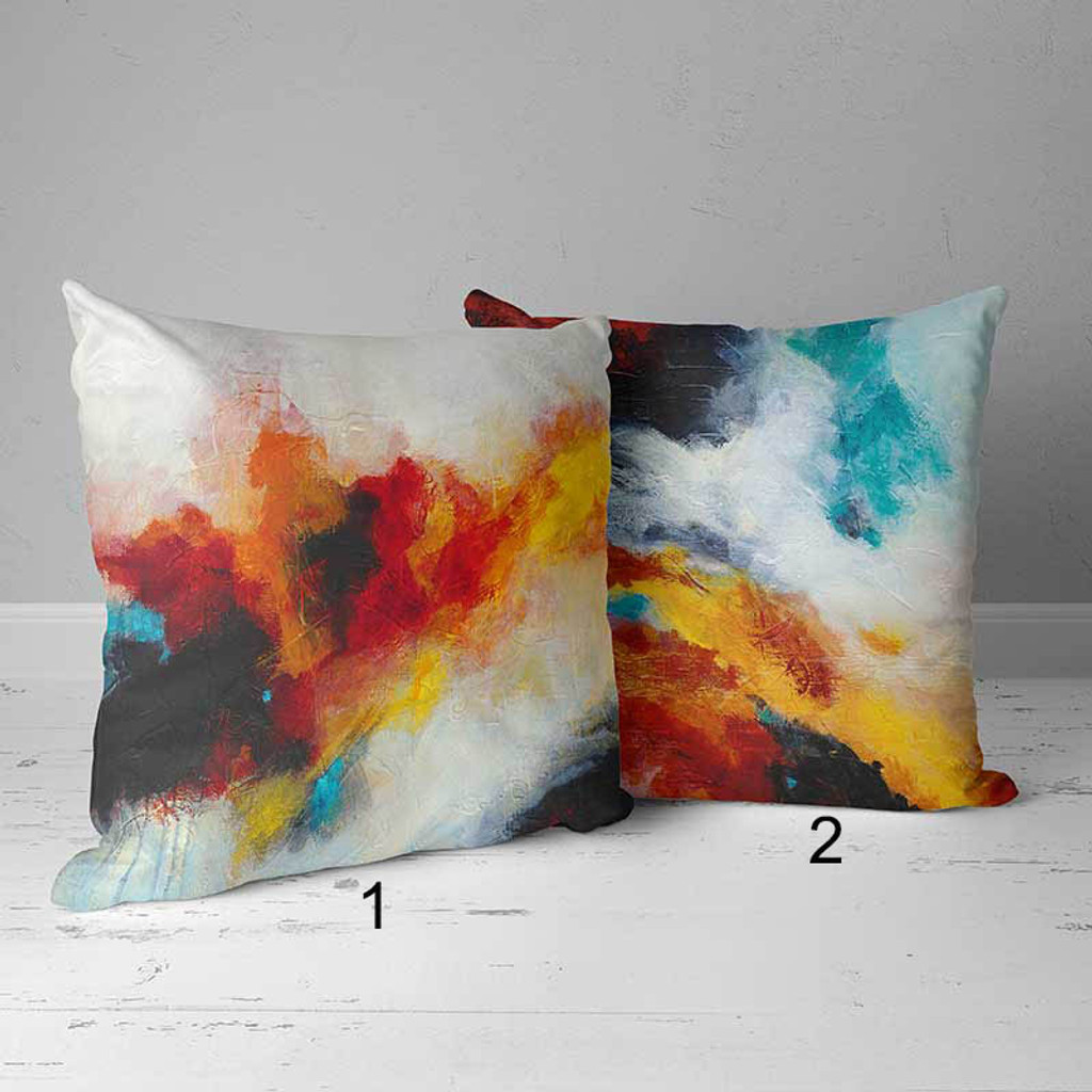 abstract pillows covers by Julia Bars
