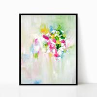 Download painting, printable abstract art print, original painting