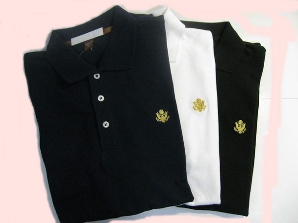 Polo - Moisture Wicking/GOLD GREAT SEAL  Embroidered
